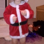 A future Christmas Rockette!