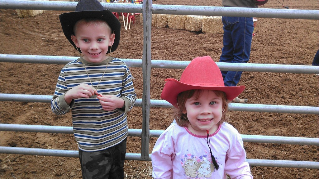 Ready for their first RODEO!
