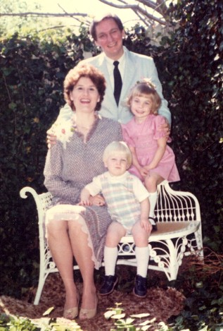Me and my family, Easter 1983?